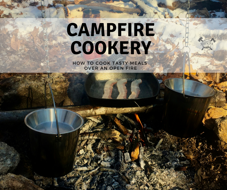 Campfire Cookery How To Cook Tasty Meals Over An Open