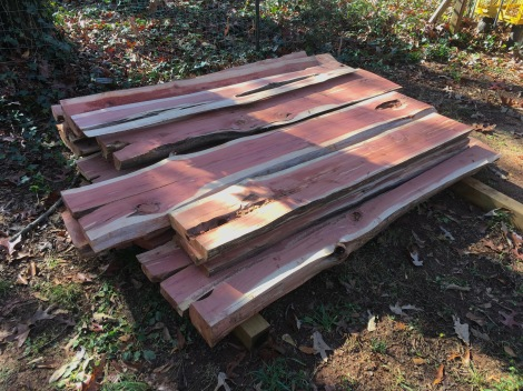 Tree to Table: Building Live Edge Dining Room Furniture ~ TheSurvivalSherpa.com