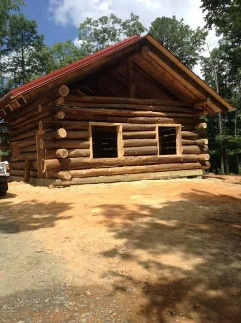 Self-Reliance on Trial: Using Hand Tools to Build a Log Cabin in the Woods ~ TheSurvivalSherpa.com