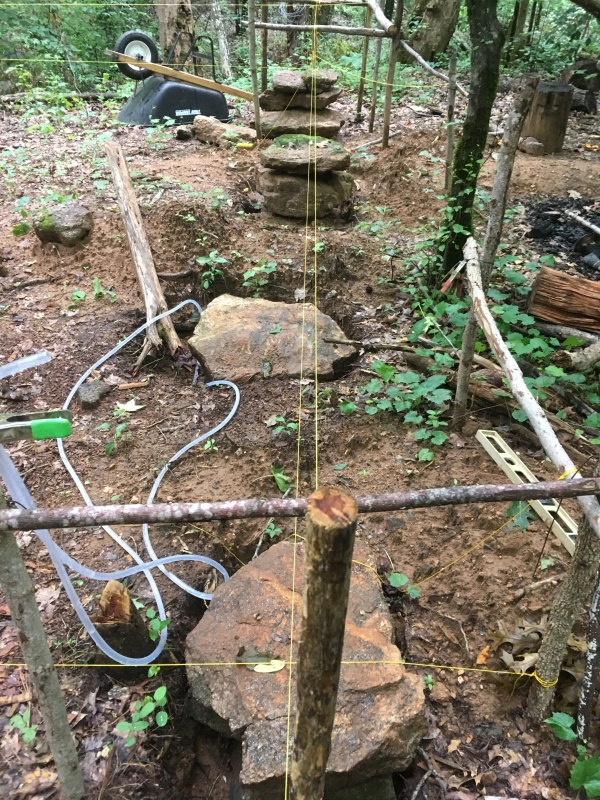 Log Cabin Update: Sill Logs and Hand-Hewn Floor Joists ~ TheSurvivalSherpa.com