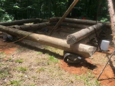 Deja vu: Building an Off-Grid Log Cabin... Again